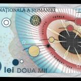 Bancnota 2000 lei 1999 (eclipsa) UNC, Necirculata - Bancnota romaneasca