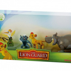 Set 5 figurine - Lion Guard - Figurina Animale Bullyland