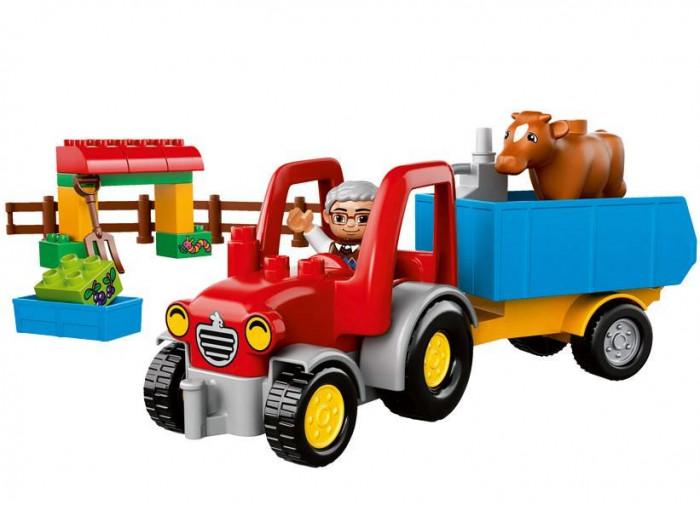LEGO DUPLO - Tractor de ferma 10524