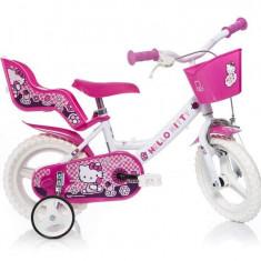 Bicicleta DINO BIKES - Hello Kitty 124RL HK - Bicicleta copii