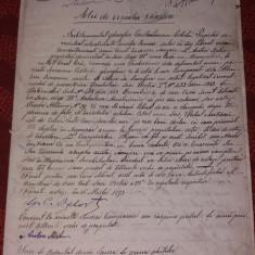 Act de vanzare - 1893