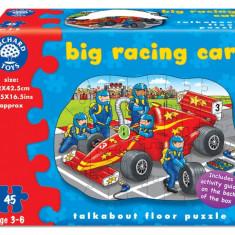 Puzzle orchard toys de podea - Masina de curse