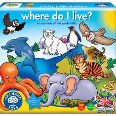 Joc educativ loto - Habitate orchard toys