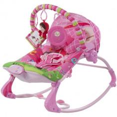 Balansoar cu melodii si vibratii Scufita Rosie - Sun Baby - Balansoar interior