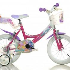 Bicicleta Winx 144R WX7 - Bicicleta copii Dino Bikes