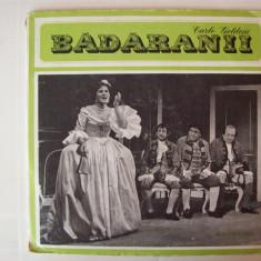 Disc vinil CARLO GOLDONI - Badaranii (EXE 02358 / 02359 - disc dublu) - Muzica soundtrack electrecord