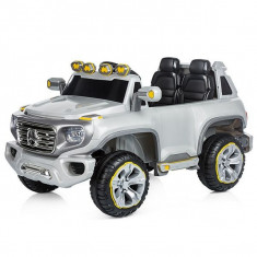 Masinuta electrica Chipolino SUV Mercedes Benz G Force Silver - Masinuta electrica copii