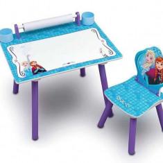 Set masuta pentru creatie si 1 scaunel Frozen - Set mobila copii