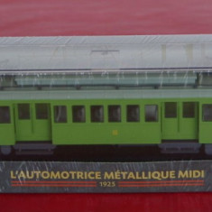 Macheta locomotiva L`Automotrice Metallique Midi - 1925, HO, Locomotive