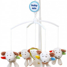 Carusel muzical Friendly Mice - Carusel patut Baby Mix, Multicolor
