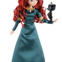 Papusa Disney Merida cea Neinfricata cu animal de companie
