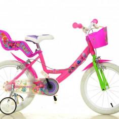 Bicicleta Trolls 164R TRO - Bicicleta copii Dino Bikes