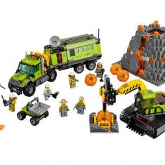 LEGO City - Baza de explorare a vulcanului 60124