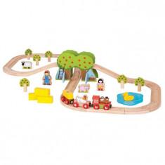 Trenuletul de la ferma - BigJigs, Seturi complete