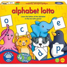 Joc educativ loto in limba engleza - Alfabetul orchard toys