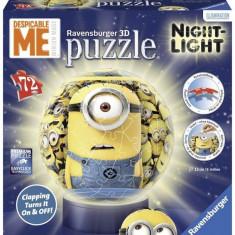 Puzzle Ravensburger 3D MINIONS CU LUMINA 72, PIESE