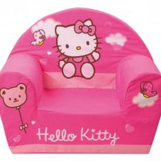 Fotoliu din burete Hello Kitty Flower - Fotoliu copii