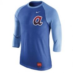 Nike MLB Cooperstown Tri-Blend 3/4 T-Shirt | produs 100% original, import SUA, 10 zile lucratoare - eb270617a - Bluza barbati