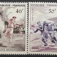 Franta 1956, Nestampilat