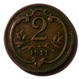 G5. TRANSILVANIA / AUSTRIA 2 HELLER 1911 **, Europa
