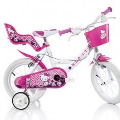 Bicicleta DINO BIKES - Hello Kitty 144R-HK - Bicicleta copii
