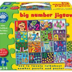 Puzzle orchard toys - Invata numerele de la 1 la 20