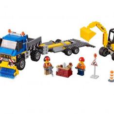 LEGO City - Maturatoare mecanica si excavator 60152