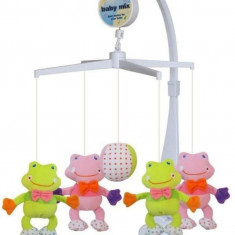 Carusel muzical Frogs - Carusel patut Baby Mix, Multicolor
