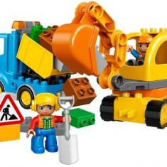 LEGO DUPLO - Camion si excavator pe senile 10812