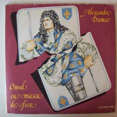 Disc vinil ALEXANDRE DUMAS - Omul cu masca de fier (EXE 03193 / 03194 - dublu) - Muzica soundtrack electrecord