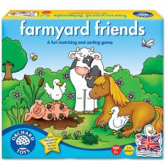 Joc educativ - Prietenii de la ferma orchard toys
