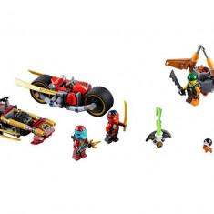 LEGO Ninjago - Urmarirea Ninja cu motocicleta 70600