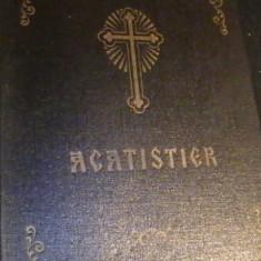 ACATISTER-476 PG- HIRTIE VELINA-TIRAJ 30.000- - Carte de rugaciuni