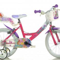 Bicicleta Winx 164R WX7 - Bicicleta copii Dino Bikes