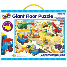 Puzzle Galt 30 de piese - Santierul
