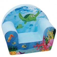 Fotoliu din burete Sea Life - Set mobila copii