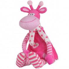 Jucarie din plus cu zornaitoare Girafa - BabyOno