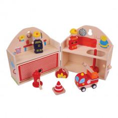 Mini Statie de pompieri - BigJigs