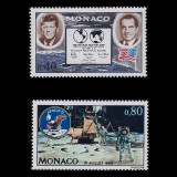 Monaco 1970 cosmos misiunea Apollo - serie nestampilata MNH - Timbre straine