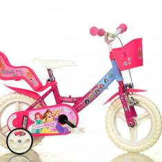 Bicicleta Princess - 124RL PSS - Bicicleta copii Dino Bikes