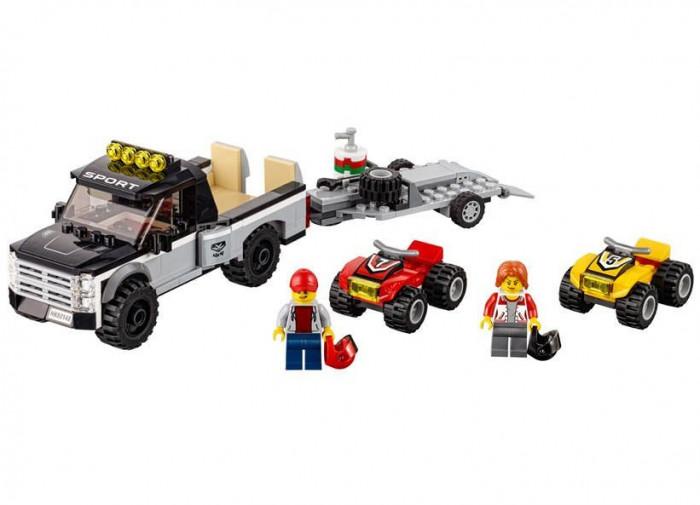 LEGO City - Echipa de curse pe ATV 60148 foto mare