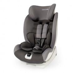 Scaun auto cu Isofix Coccolle Vela-Fix grupa 9-36 kg Gri - Scaun auto copii