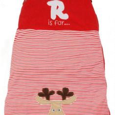 Sac de dormit Red Reindeer 0-6 luni 2.5 Tog - Sac de dormit copii, Rosu