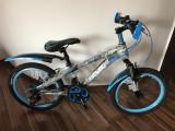 Bicicleta copii 20 inch echipata Shimano 18 viteze 6-9 ani Negru cu Albastru
