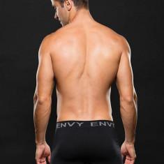 Boxer ENVY Gray Logo M/L - Lenjerie sexy barbati