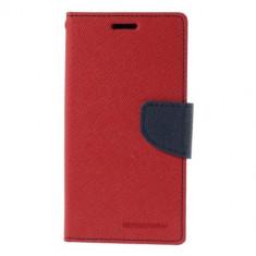 Husa My-Fancy Samsung Galaxy S6 Edge Plus - Rosu-Albastru - Husa Telefon