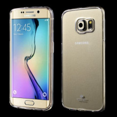 Husa Samsung Galaxy S6 Edge - Gel Mercury Transparent - Husa Telefon