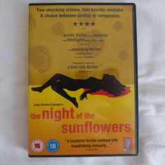 The night of the sunflowers - dvd