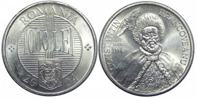 ROMANIA 1000 LEI 2004 DIN FISIC UNC NECIRCULATA foto