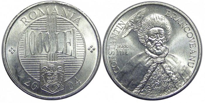 ROMANIA 1000 LEI 2004 DIN FISIC UNC NECIRCULATA